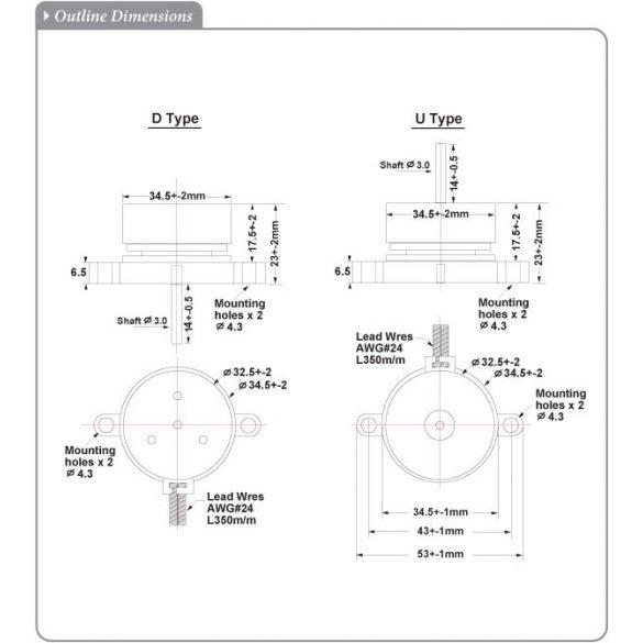 MED8025PT05-HB** Sinwan motor