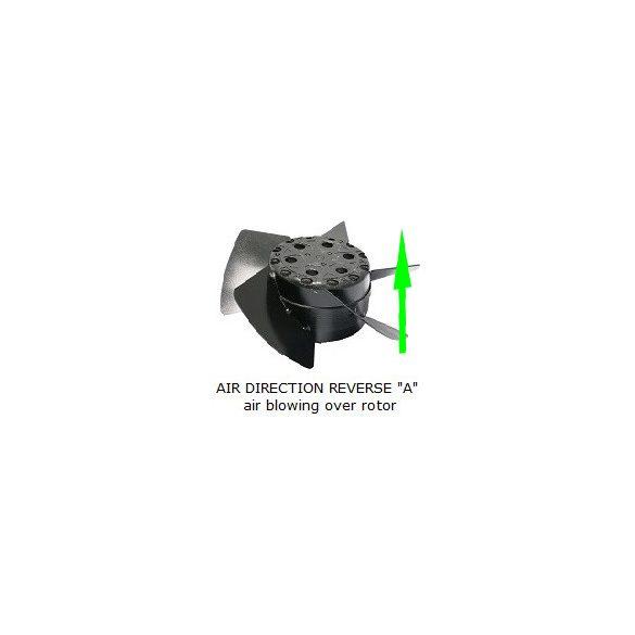 MK172RAN11 Dia.140x48mm / 6 inch 250~123 CFM