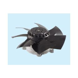 Sinwan Heat resistant AC skeleton fan metal impeller reverse airflow MK254GAN