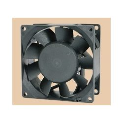 SD8038PT 80x80x38mm / 3.1x1.5inch Sinwan DC Fan, 130 CFM