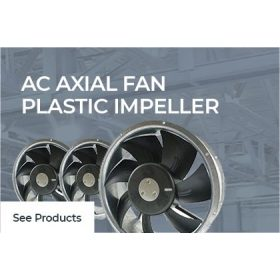 AC Axial Fan Plastic Impeller