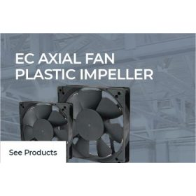 EC Axial Fan Plastic Impeller
